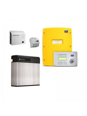 LG Chem RESU 10-SMA SI 4.4M-11 flexible storage set