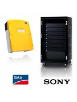 SMA SI 6.0H-11 3+Sony Power Storage Set 19.2
