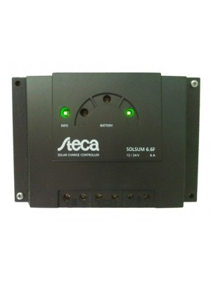 Steca Solsum 6.6F - 12/24V 6A Solar Charge Controller